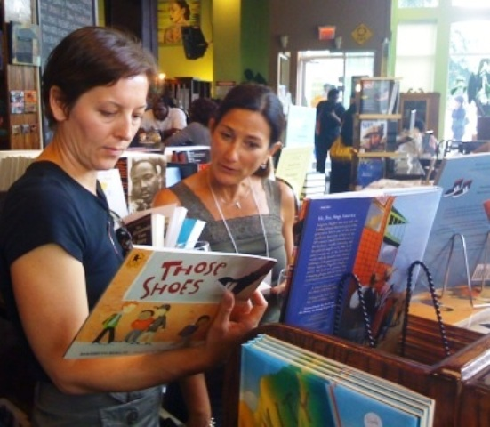 Teachers and parents find children's books by and about people of color.