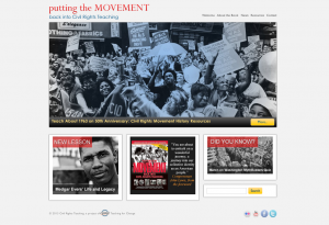"Our companion website, Civil Rights Teaching, provides information about ""Putting the Movement Back into Civil Rights Teaching"" and many more resources for teaching about the Civil Rights Movement."