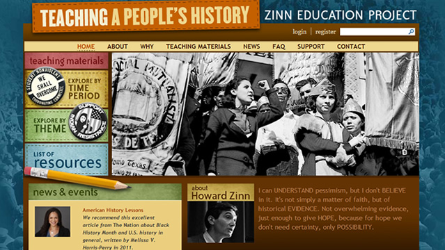 Teaching a People's History