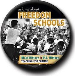 Ask Me About Freedom Schools Button