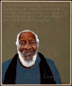 Dick Gregory.