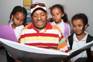 Brightwood BTSN 2010 - Ethiopian dad reading 1