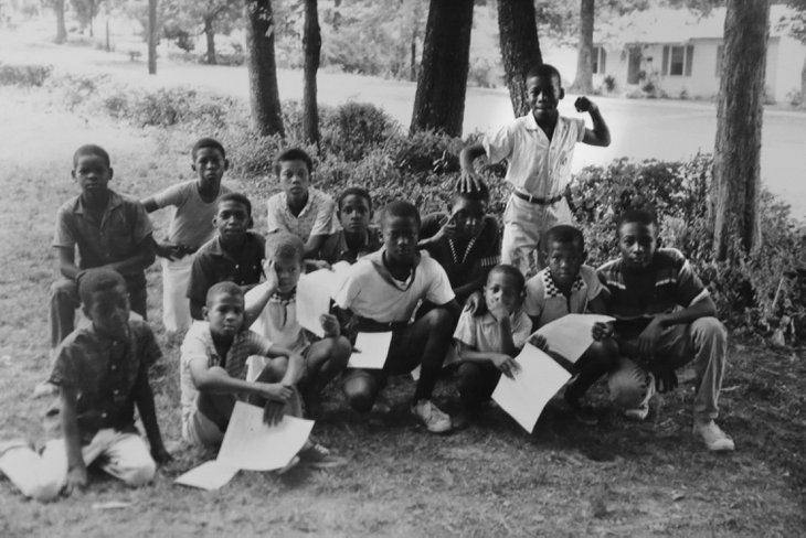 "a ""Freedom School"" in Holly Springs, Miss. During the ""Freedom Summer"" hundreds of volunteers descended on Mississippi to register blacks to vote and establish the freedom schools and community centers. The schools were aimed to help prepare those long disenfranchised for participation in the political process. (AP Photo/Michael Clurman)"