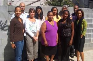 Teaching for Change board members in 2008.