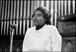 Prathia Hall, 1964, Alabama. (c) Danny Lyon