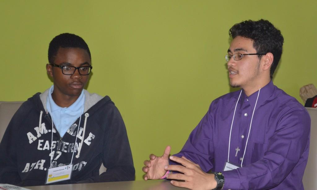 Student led panel on food deserts.