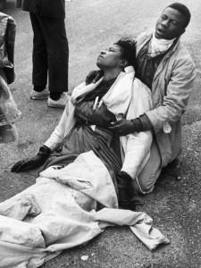 Boynton Robinson, brutally beaten on Bloody Sunday.