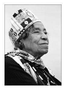 Mrs. Amelia Boynton Robinson at 100 years of age in 2011. By Jim Gavenus.