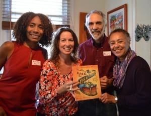 Kimberly Waller, Catherine Murphy, Marc Mauer, and Judy Richardson.
