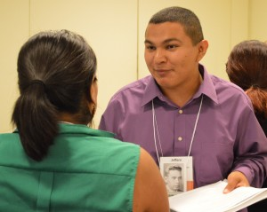 Teacher workshop at National Conference on Race and Ethnicity.