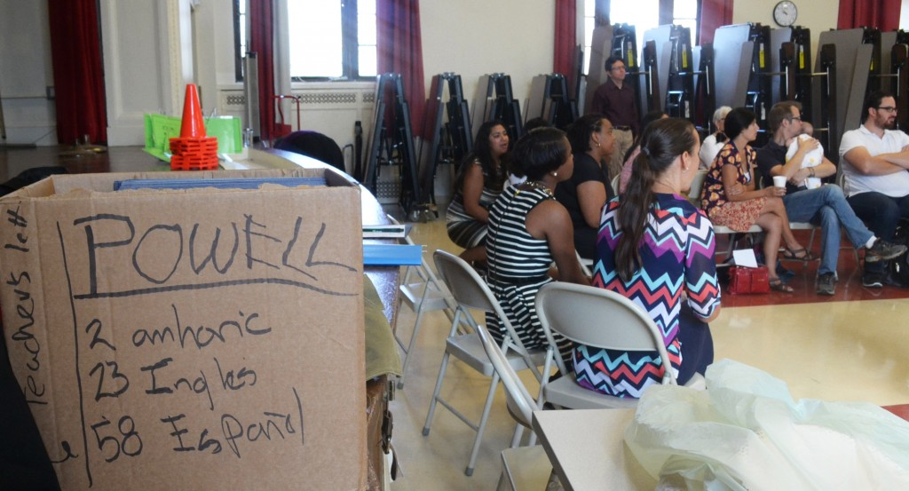 Gentrification and changing demographics are a focus area for family engagement efforts at Powell Elementary, a second-year Tellin' Stories partner school.
