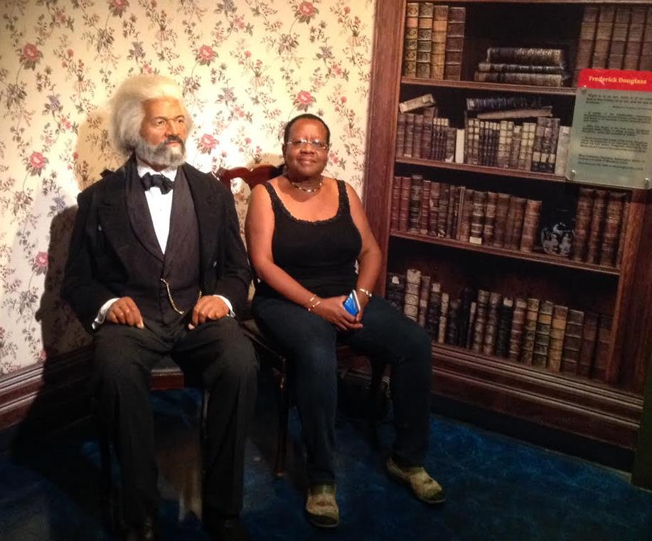 EnidLee and Frederick Douglass