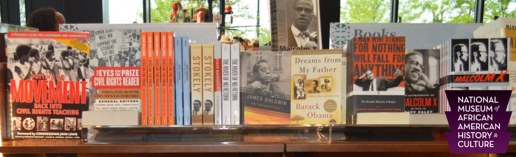 Our book at NMAAHC.