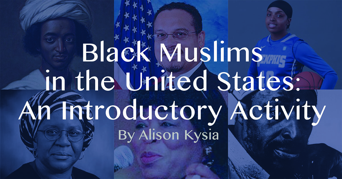 Black muslims in the united states an introductory activity this interactive lesson introduces participants to black muslims in us history through a meet and greet activity the lesson empowers participants to m4hsunfo