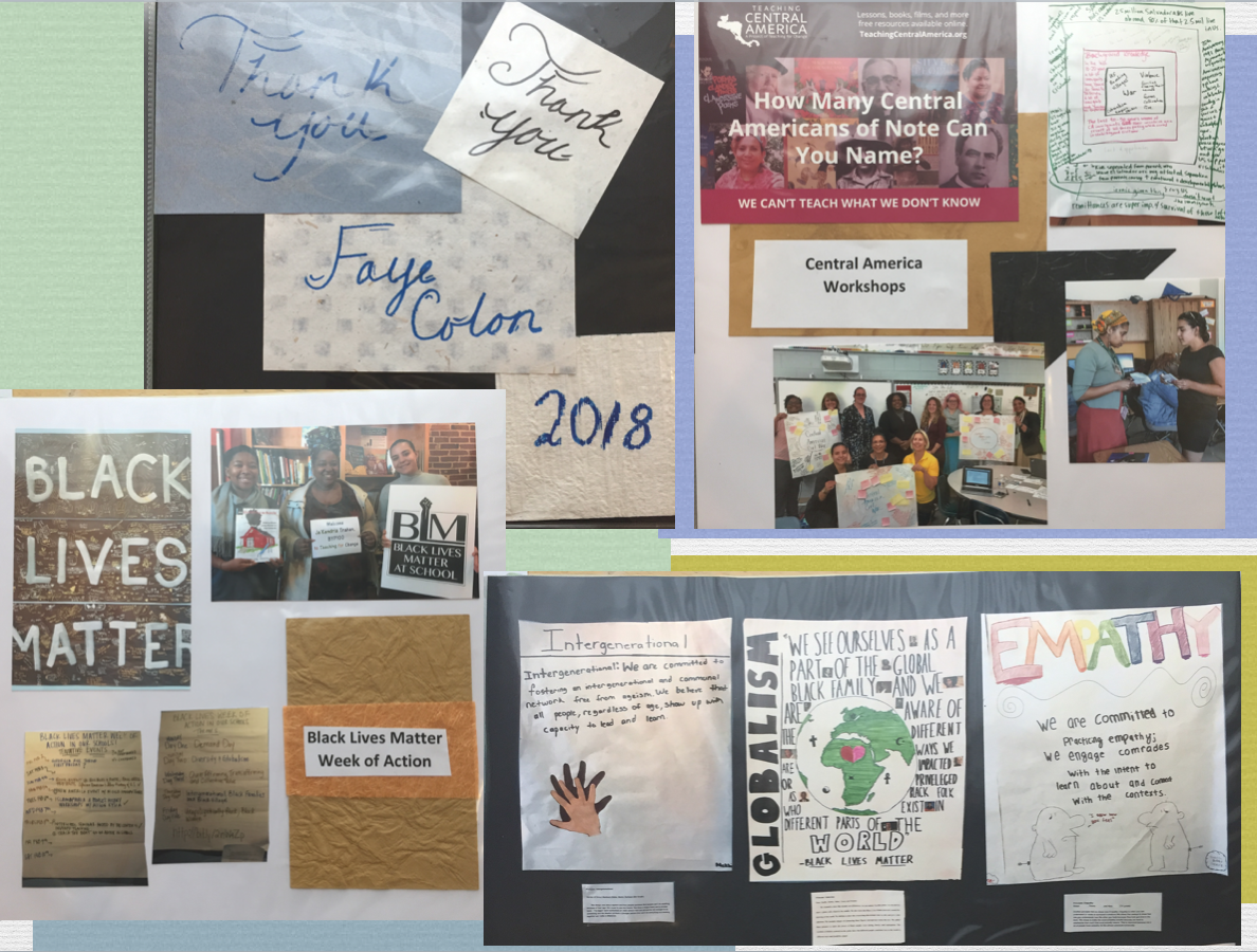 2018 Intern Blog Scrapbook for Faye