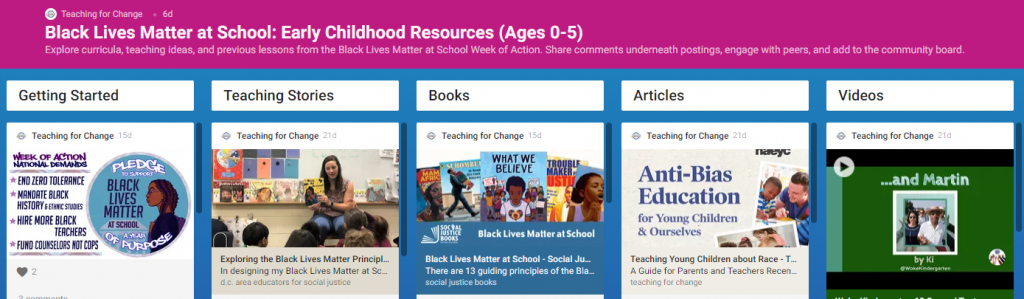 BLM Early Childhood Gallery